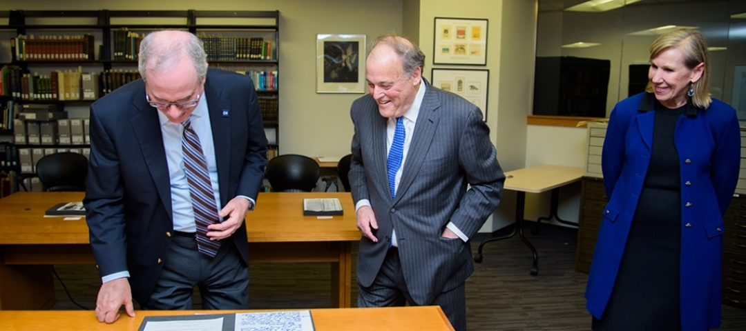 Alumnus Mark Plotkin donates papers to GW