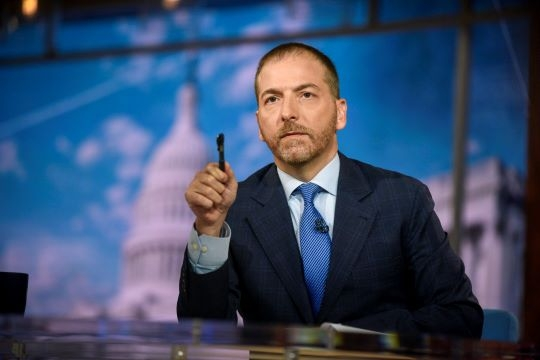 """Alumnus and """"Meet the Press"""" host Chuck Todd Q&As with """"GW Magazine"""""""