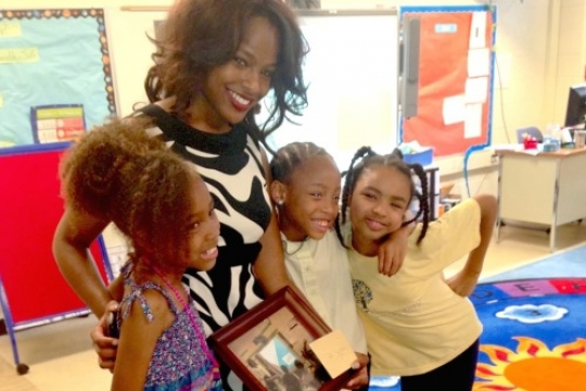 Alumna educates underprivileged young girls about health and wellness